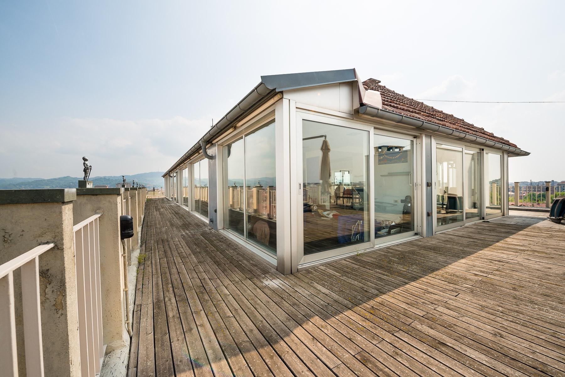 Spettacolare attico in centro a Torino
