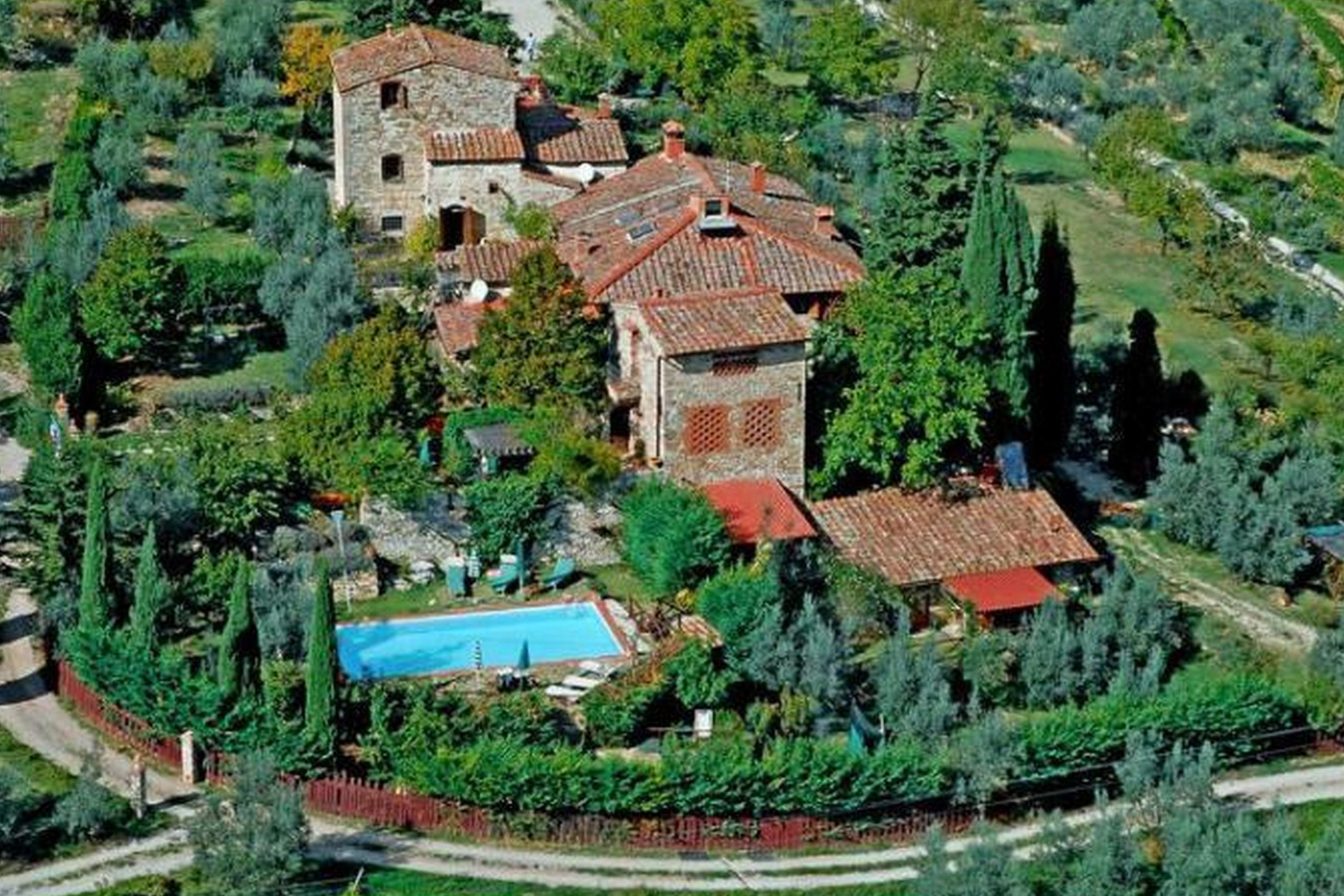 Lovely hamlet near Greve in Chianti