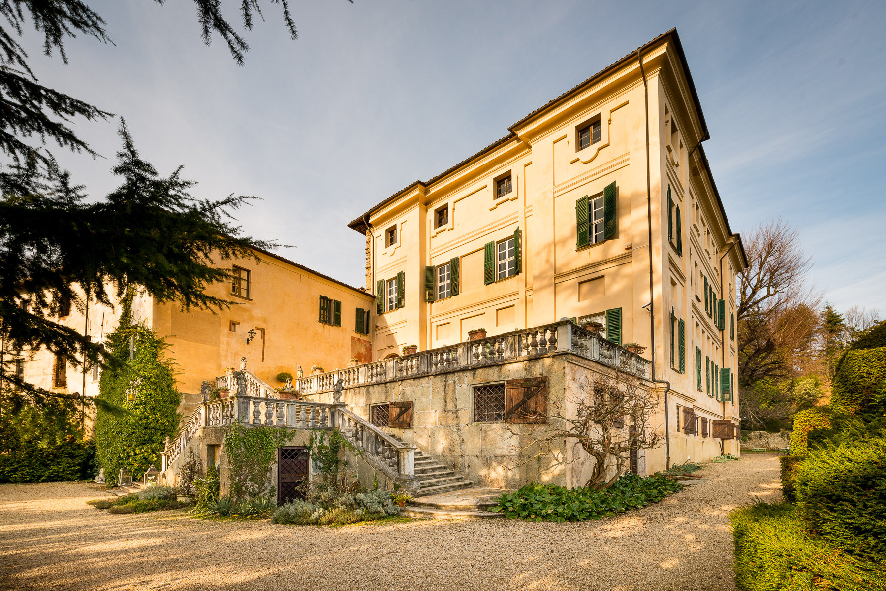 Stately Castle in Piedmont
