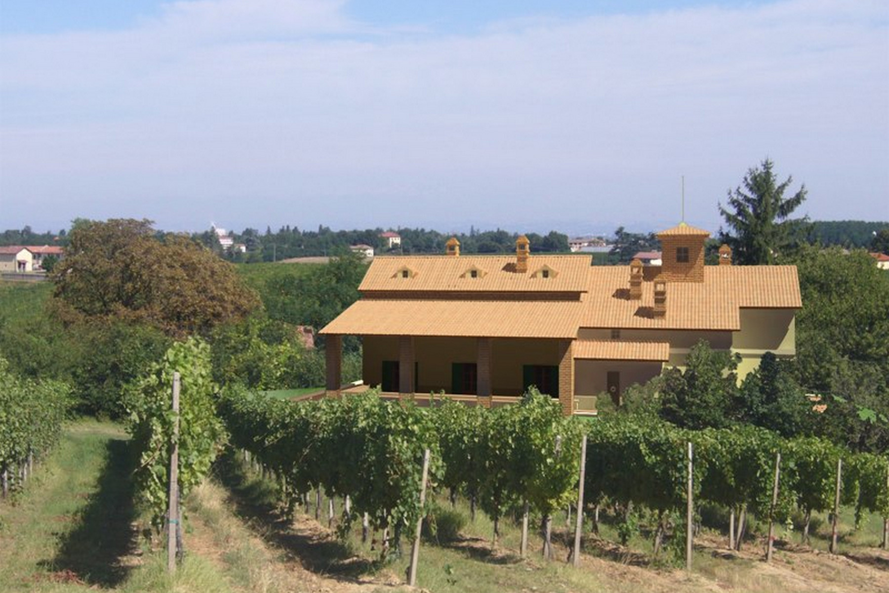 Farmhouse in the Gavi hills