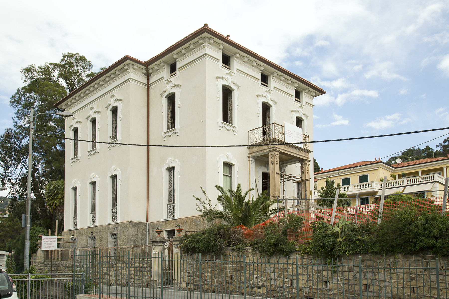 Liberty style Villa in Sanremo