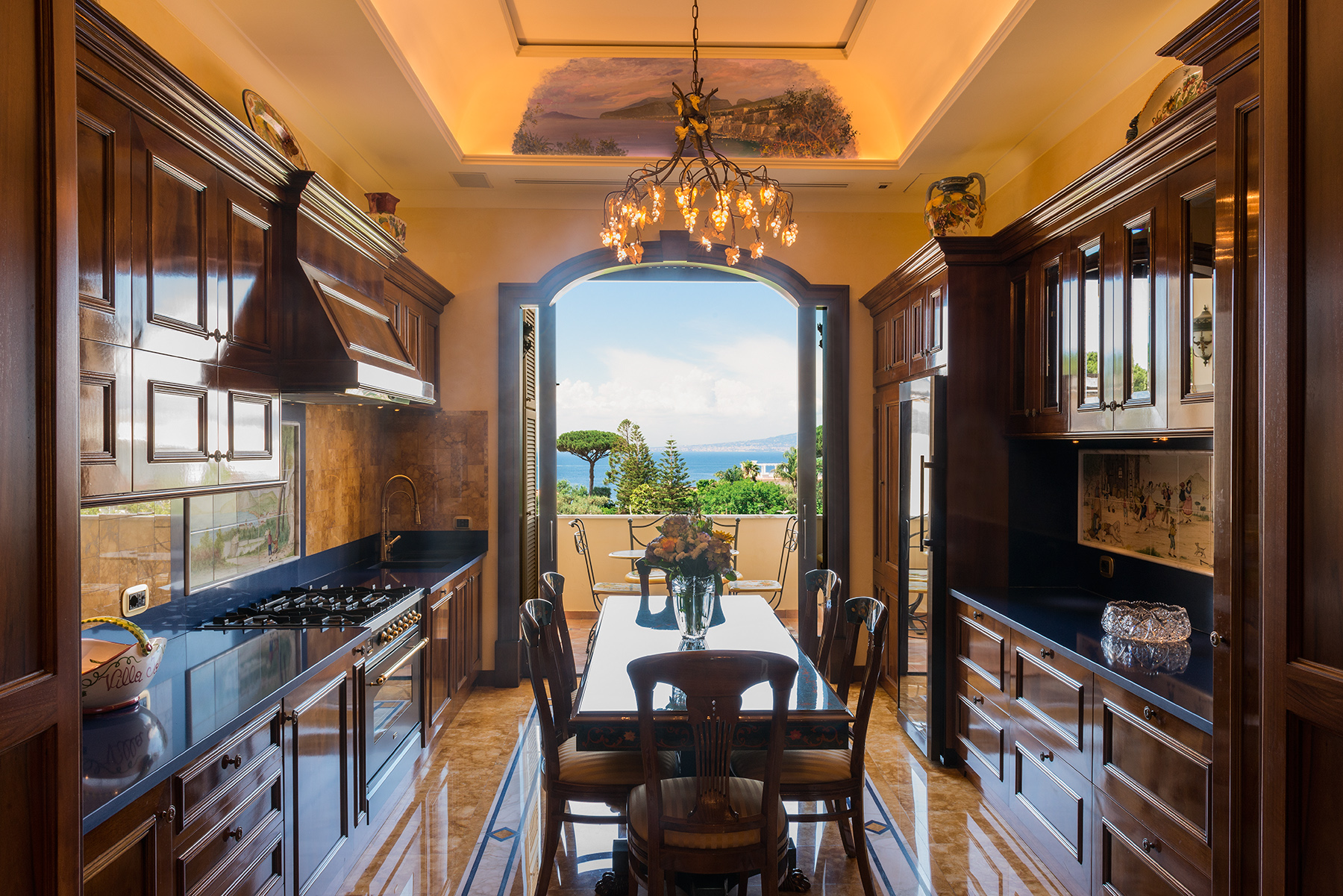 Spectacular apartment in the center of Sorrento