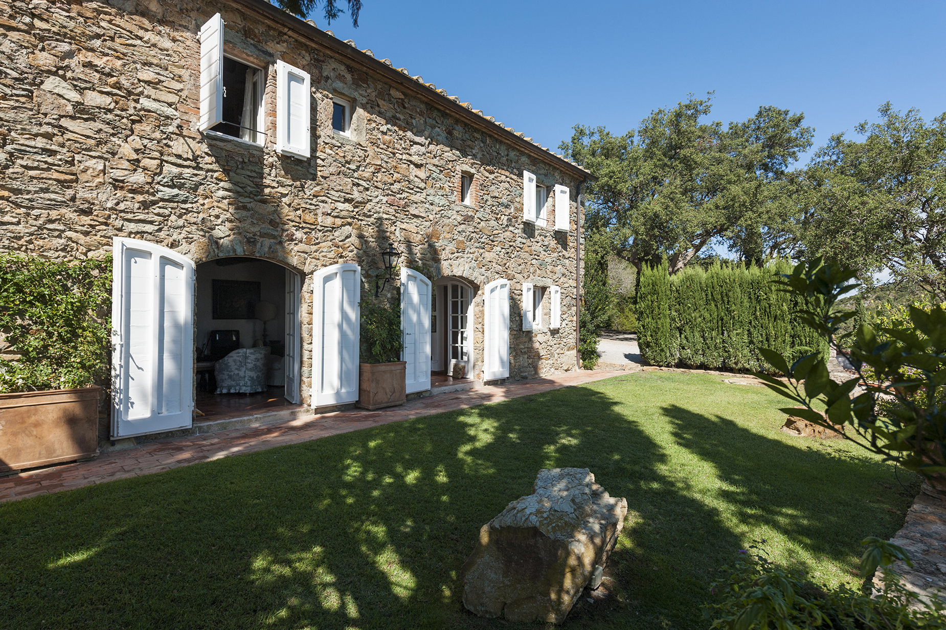 Wonderful stone villa in Monte Argentario
