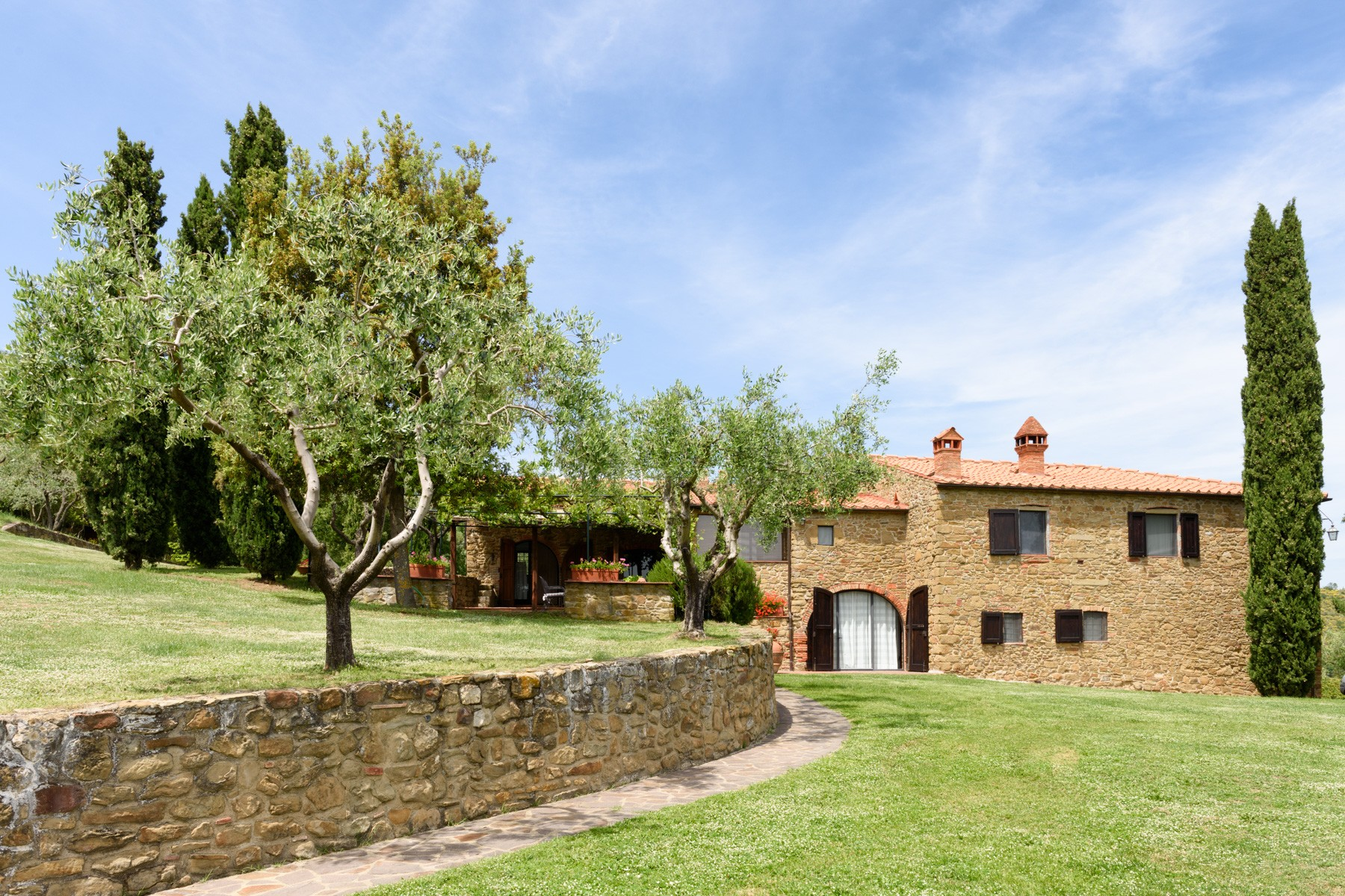 Country retreat in Chianti Aretino
