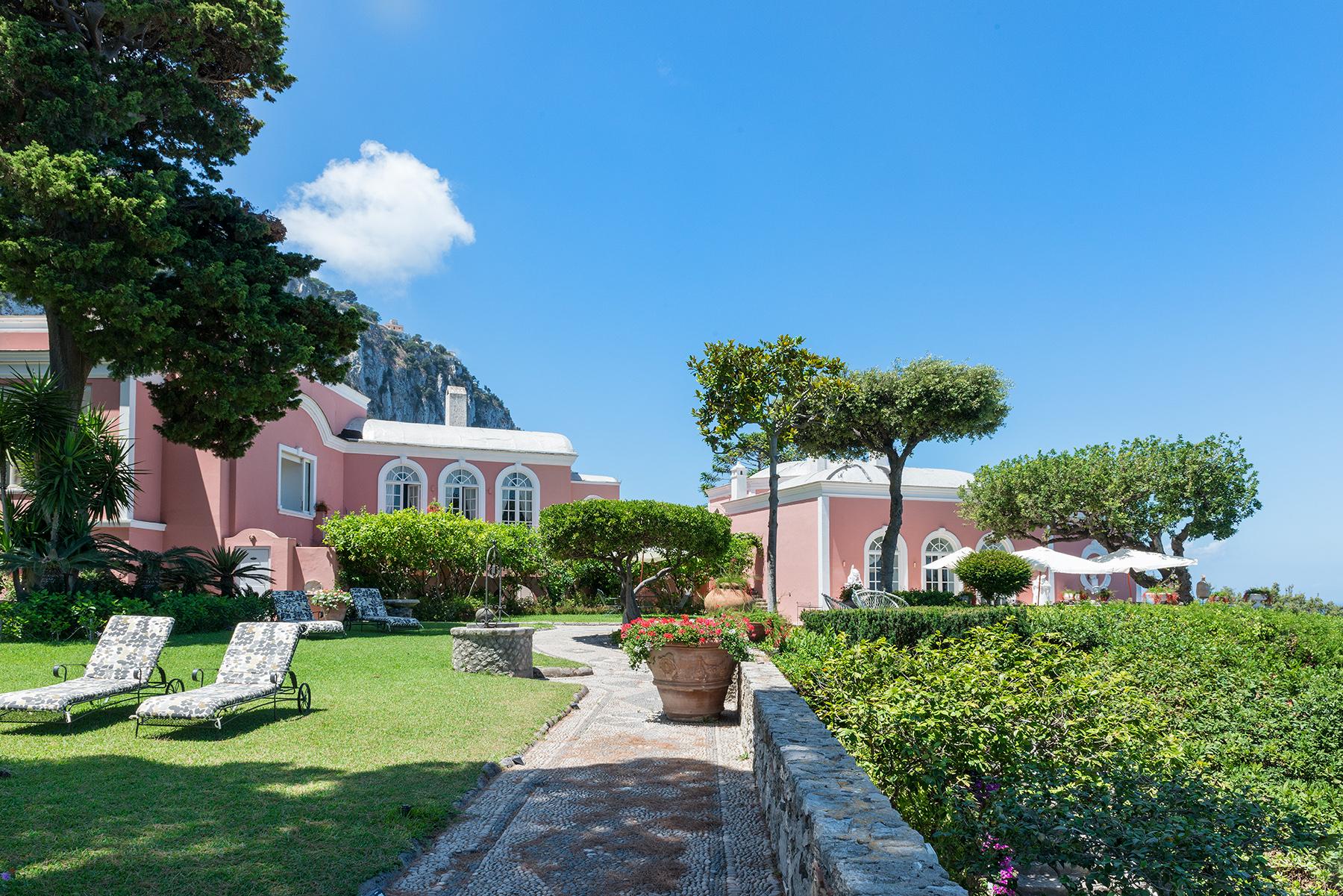 Villa Bismark, una location straordinaria nell'esclusiva isola di Capri