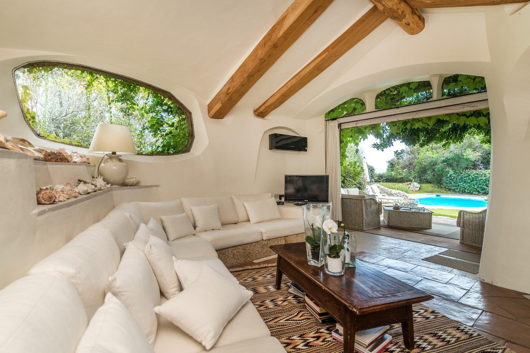 Unique sardinian style villa with private garden