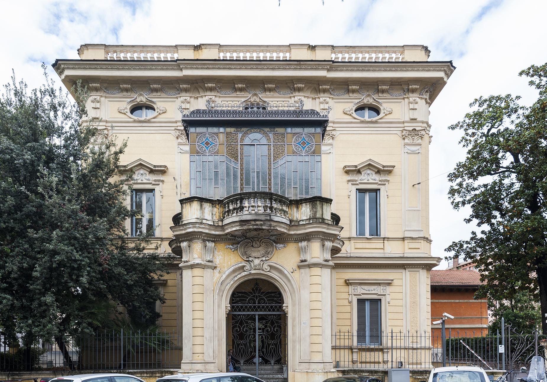 Magnifica villa Art Deco nel centro di Roma
