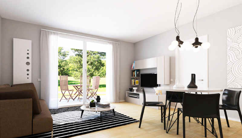Appartamento in vendita a Tradate, 3 locali, zona Località: STAZIONEFNM, prezzo € 245.000   PortaleAgenzieImmobiliari.it