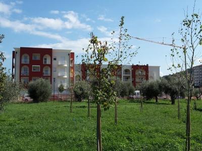 Cantiere a Pescara