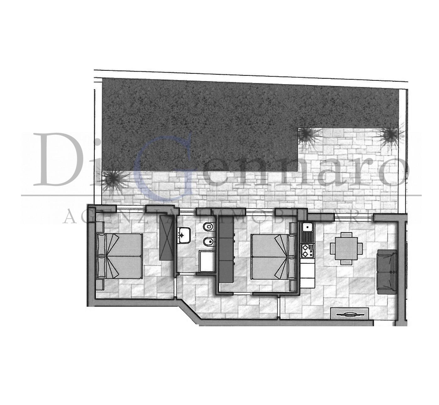 vendita appartamento alba adriatica zona mare  127000 euro  3 locali  55 mq