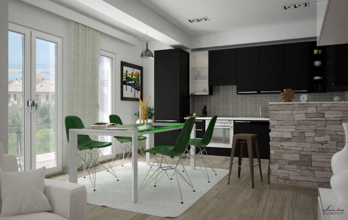 winklay italia - dettagli proprietà 431 - Soggiorno Cucina Soluzioni