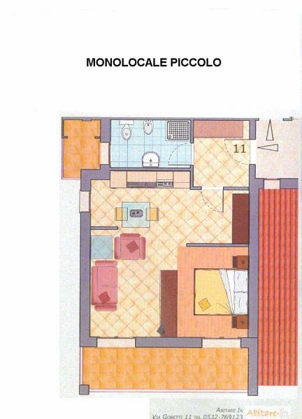 Bilocale Ferrara Via Caretti 2