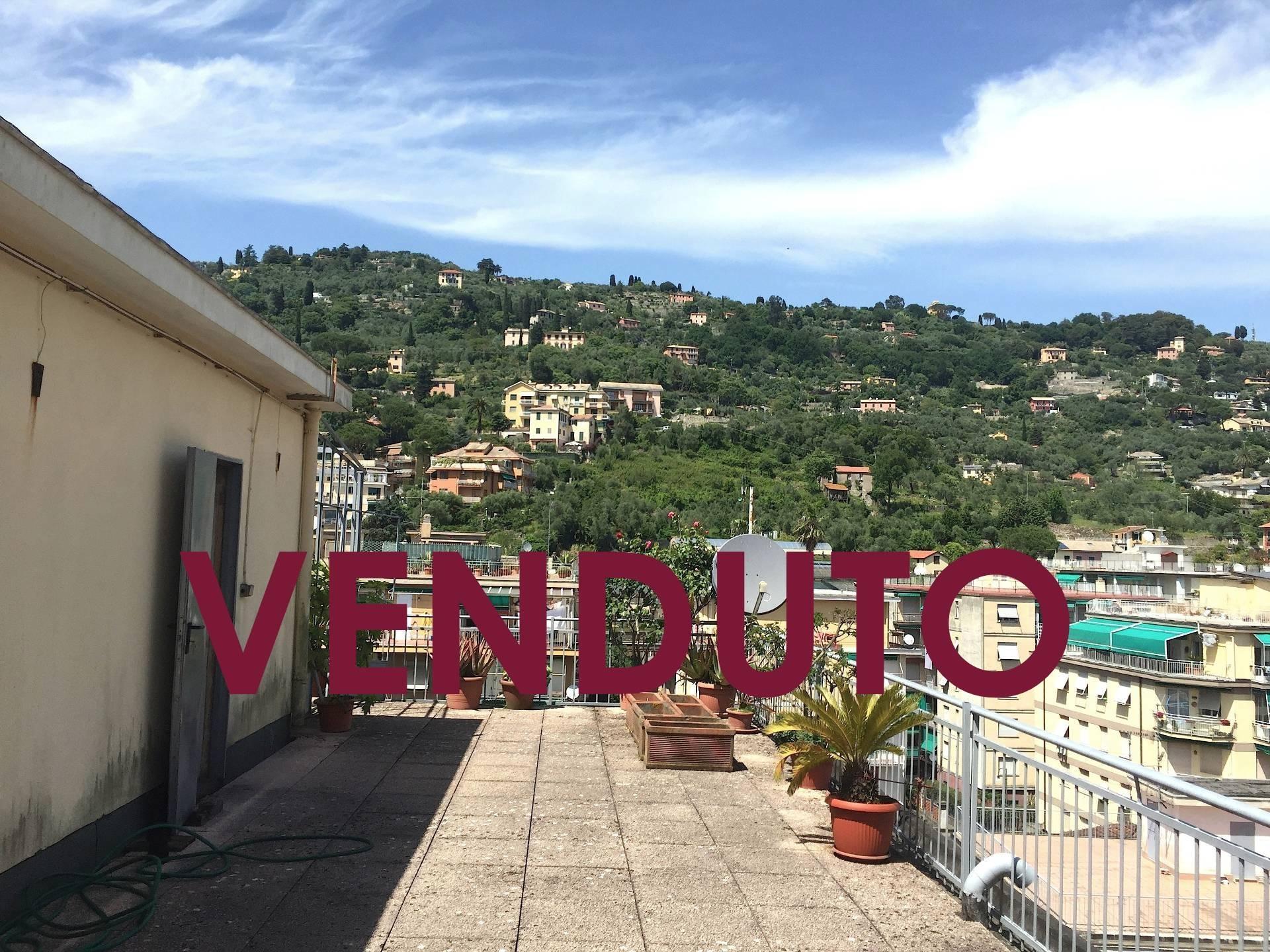 Attico / Mansarda in vendita a Santa Margherita Ligure, 4 locali, prezzo € 290.000 | Cambio Casa.it
