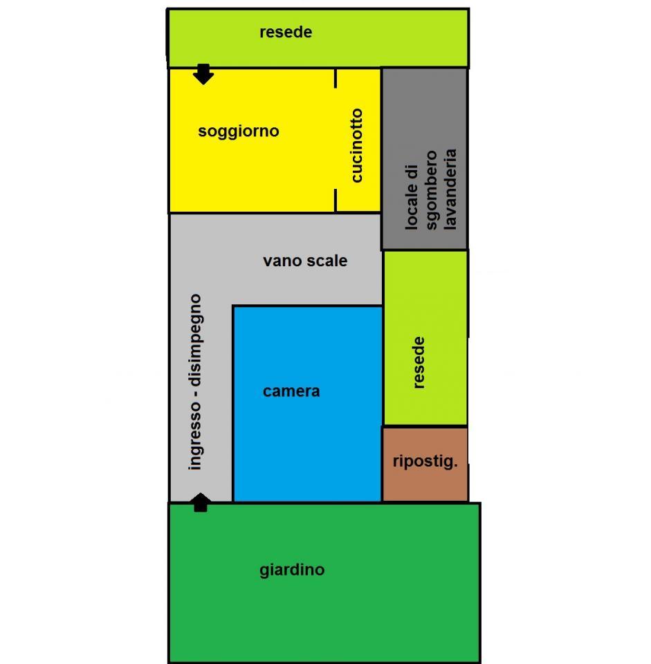 Soluzione Indipendente in affitto a Pisa, 4 locali, zona Località: SanMarco, prezzo € 630 | Cambio Casa.it