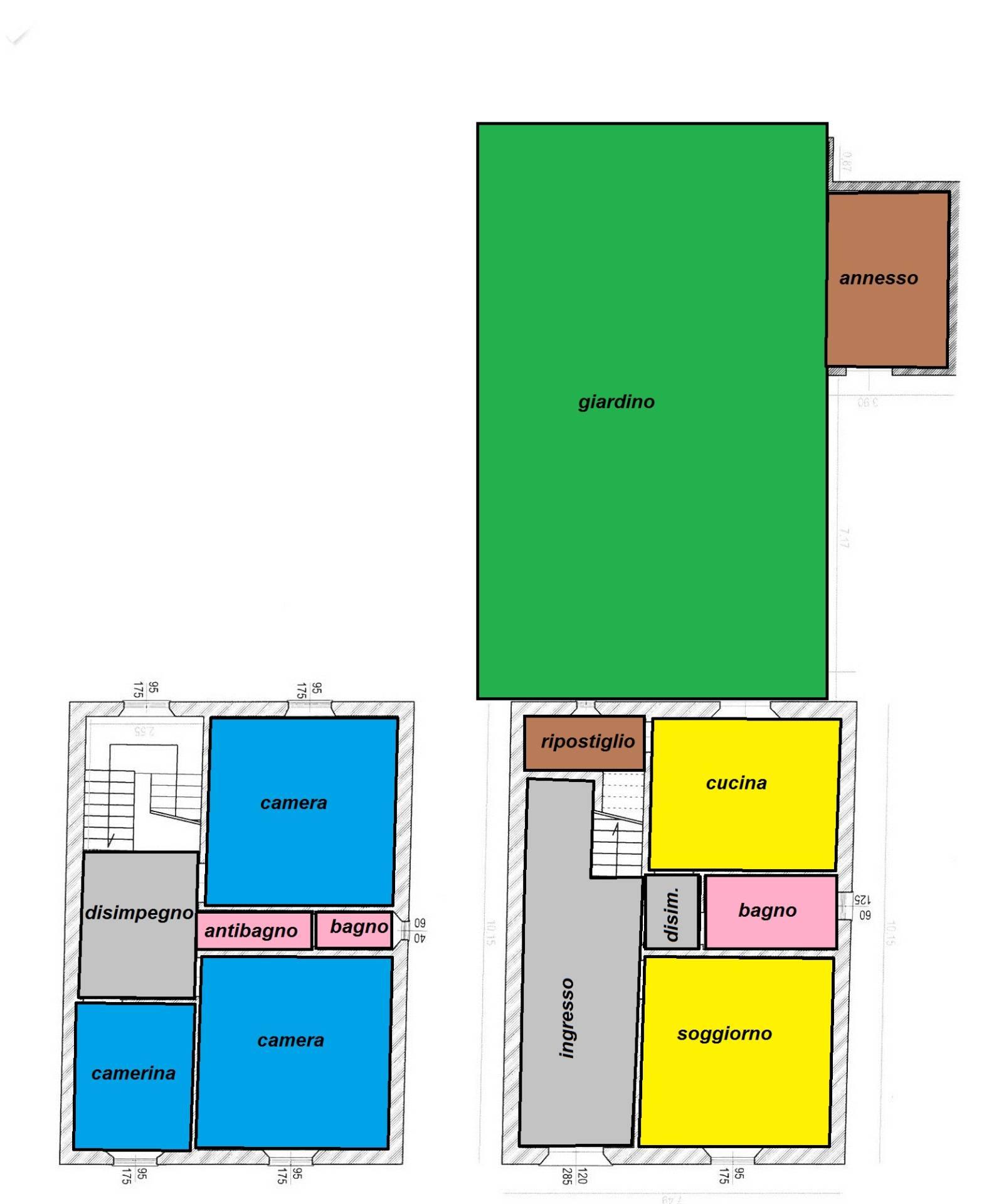 Villa in vendita a Cascina, 5 locali, zona Zona: Visignano, prezzo € 320.000 | Cambio Casa.it