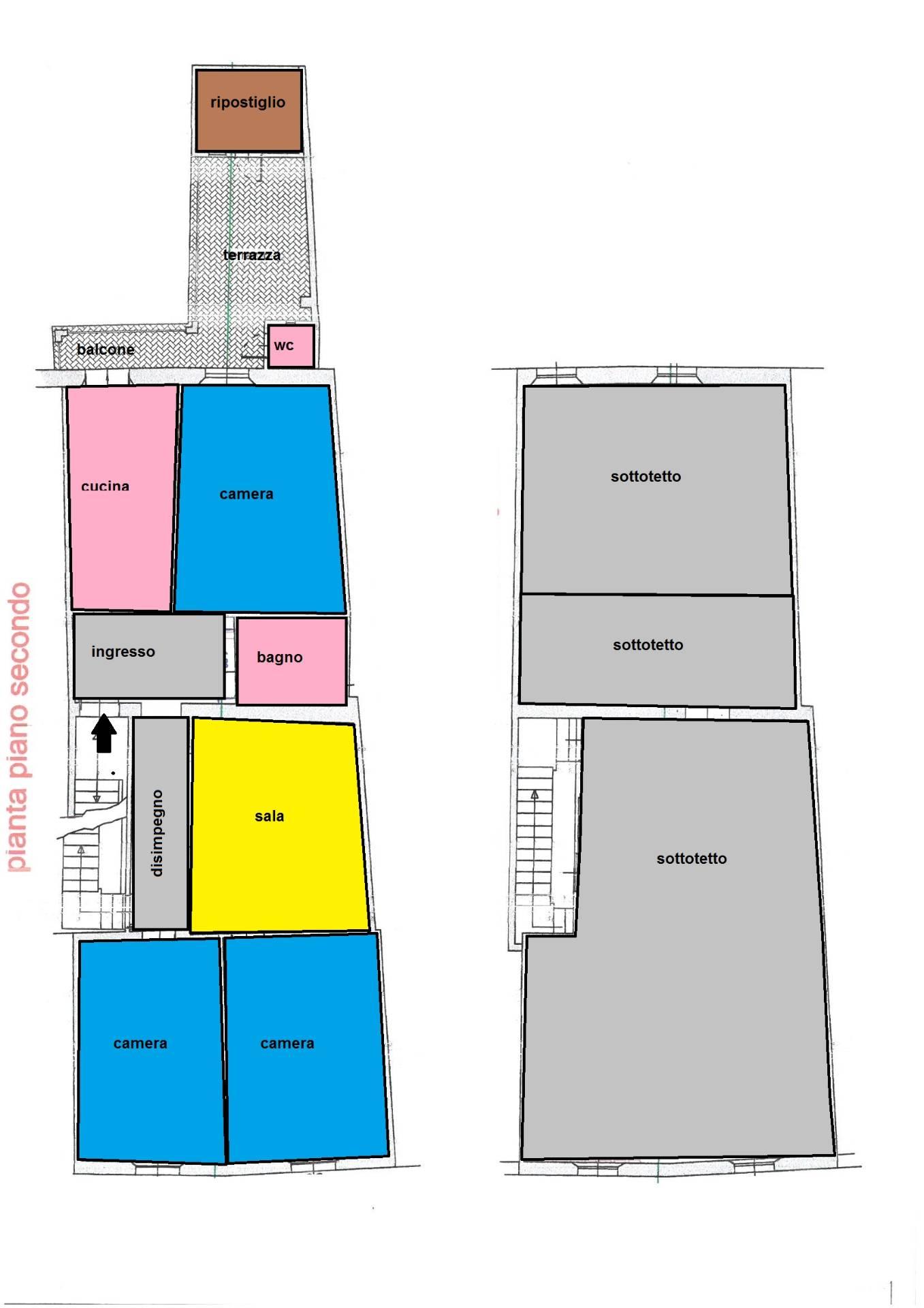 Appartamento in affitto a Cascina, 5 locali, zona Località: Centro, prezzo € 600 | CambioCasa.it