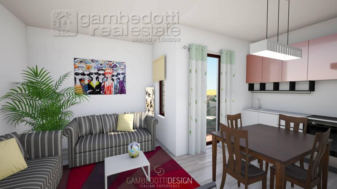 Appartamento in vendita a Urbino, 3 locali, zona aferro, prezzo € 109.000 | PortaleAgenzieImmobiliari.it