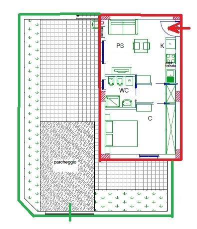 Appartamento in vendita a Acquaviva Picena, 2 locali, zona Zona: Abbadetta, prezzo € 107.000 | CambioCasa.it