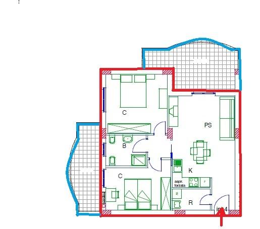 Appartamento in vendita a Acquaviva Picena, 3 locali, zona Zona: Abbadetta, prezzo € 132.000 | CambioCasa.it