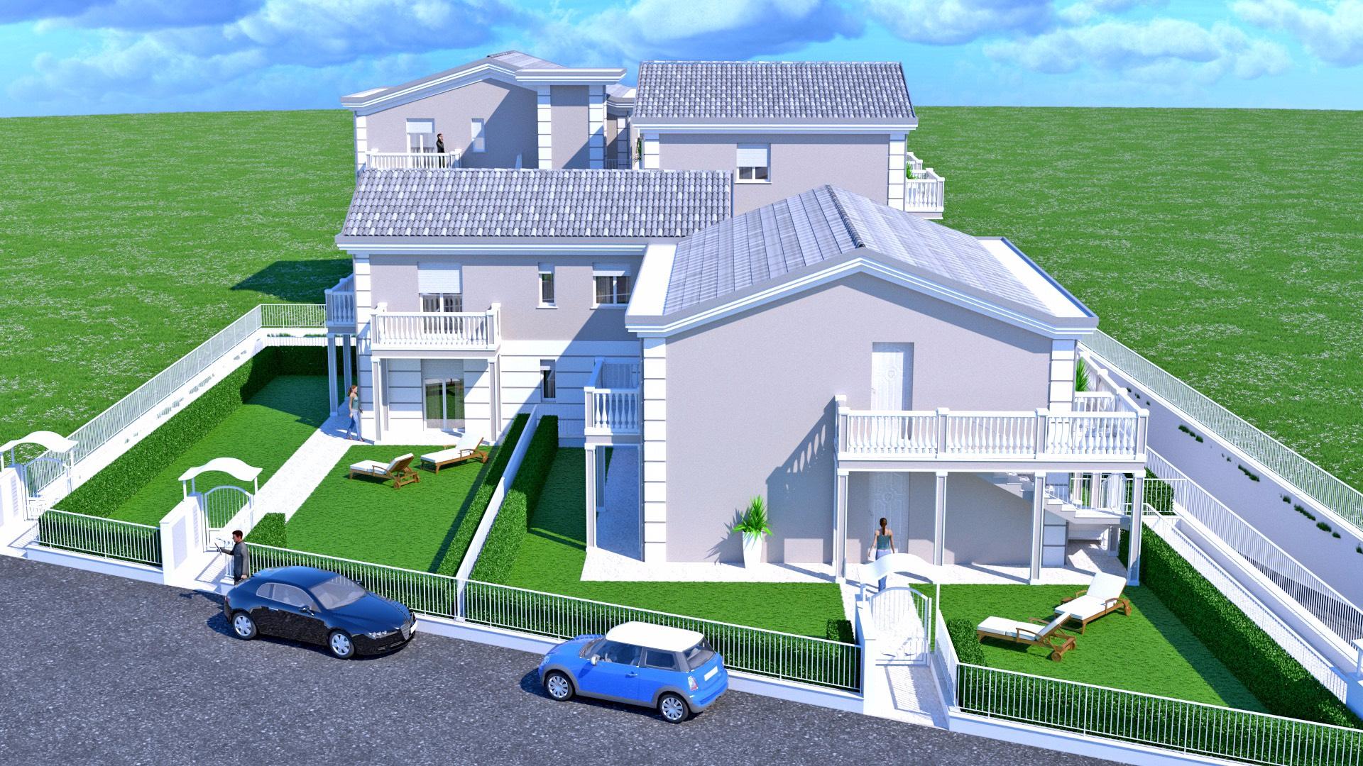 Appartamento in vendita a Porto San Giorgio, 4 locali, prezzo € 260.000 | CambioCasa.it