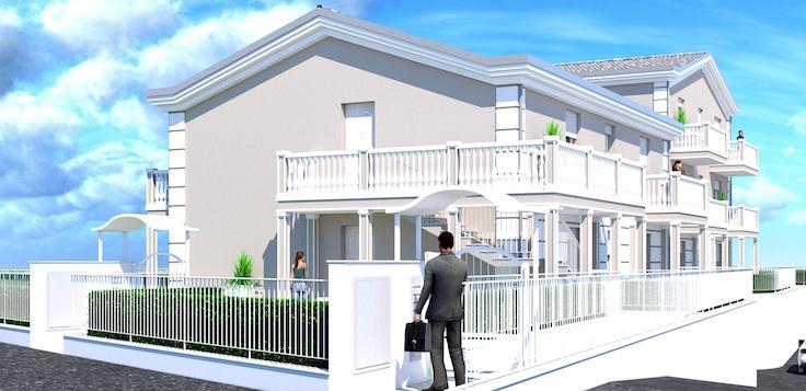 Appartamento in vendita a Porto San Giorgio, 4 locali, prezzo € 210.000 | CambioCasa.it