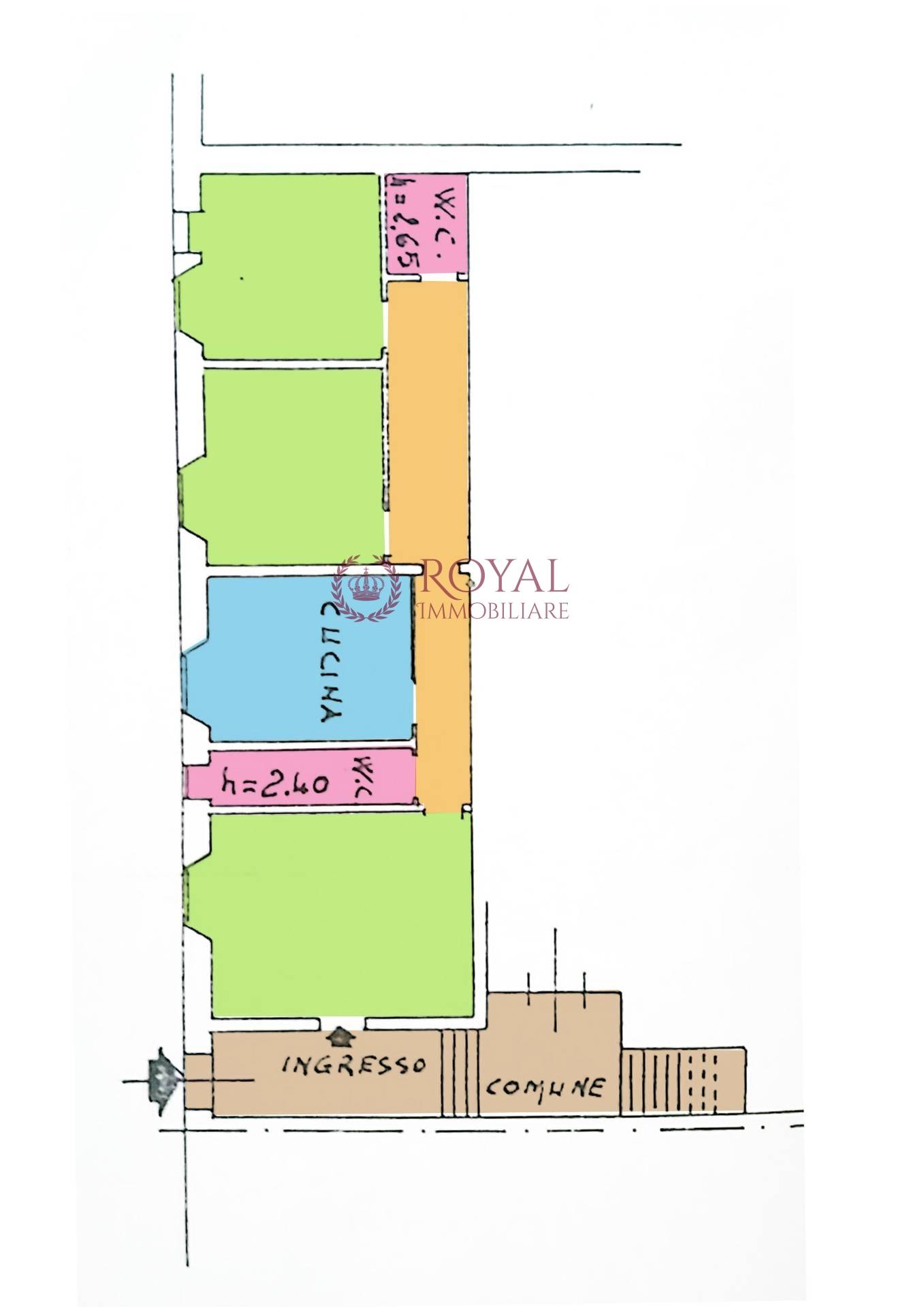 vendita appartamento livorno magenta  120000 euro  3 locali  90 mq