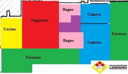 Appartamento in vendita a Latisana, 4 locali, zona Località: Centro, prezzo € 145.000   Cambio Casa.it