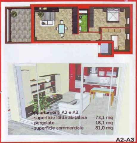 Appartamento in vendita, rif. v2245