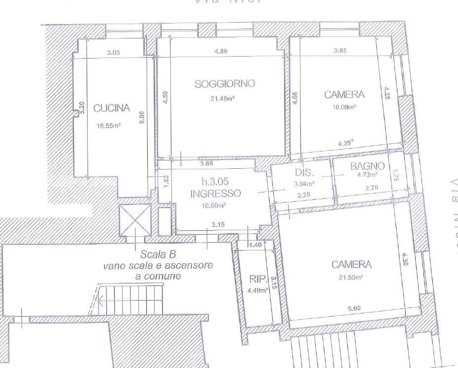 Appartamento in vendita, rif. V2447