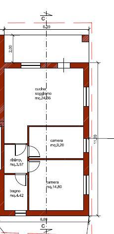 Villetta bifamiliare in vendita, rif. V2635B