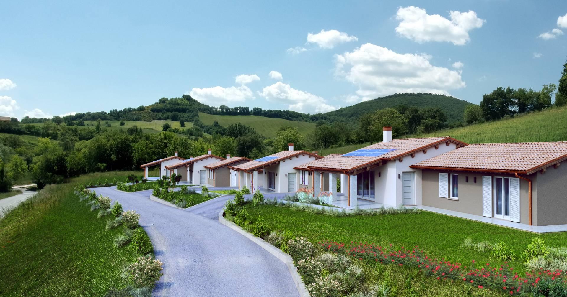 Villa in vendita a fabriano cod b67 - Progetto casa fossato di vico ...