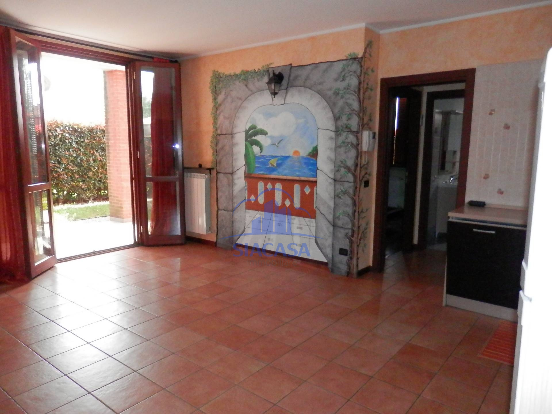Bilocale Busnago Via Santa Chiara 10