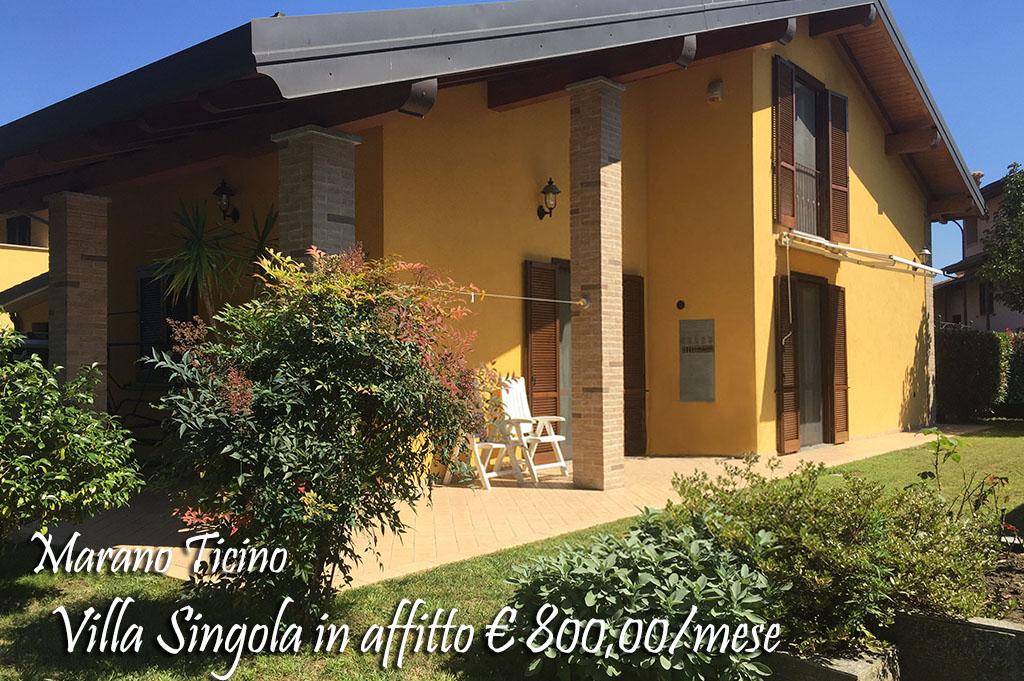 Villa in affitto a Marano Ticino, 4 locali, prezzo € 800 | Cambio Casa.it