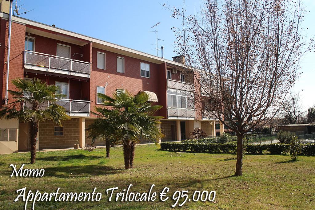 Appartamento in vendita a Momo, 3 locali, prezzo € 95.000   Cambio Casa.it