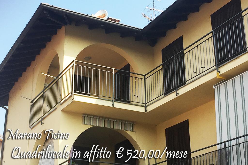 Attico / Mansarda in affitto a Marano Ticino, 4 locali, prezzo € 520 | Cambio Casa.it