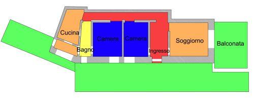 vendita appartamento savona savona  270000 euro  4 locali  110 mq