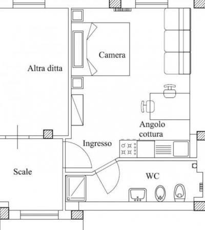 Monolocale in Affitto a San Benedetto del Tronto