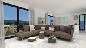 Wohnung mit Garten zu Miete in Capriasca