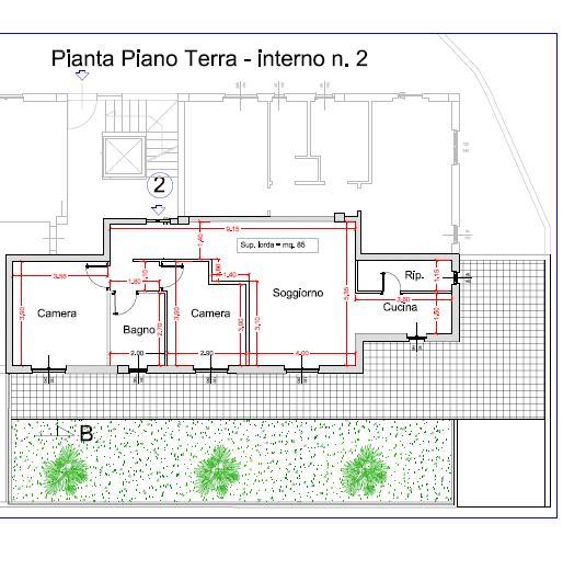 Appartamento in vendita a Acquaviva Picena, 4 locali, prezzo € 169.000 | CambioCasa.it