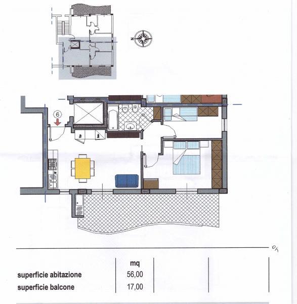 vendita appartamento san benedetto del tronto   170000 euro  3 locali  75 mq