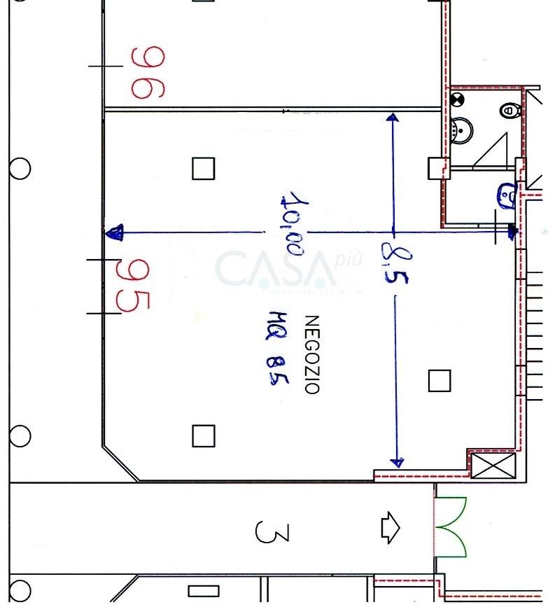 Attività / Licenza in affitto a Monteprandone, 9999 locali, zona Zona: Centobuchi, prezzo € 550 | Cambio Casa.it