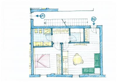 appartamento 1 stanza in Vendita