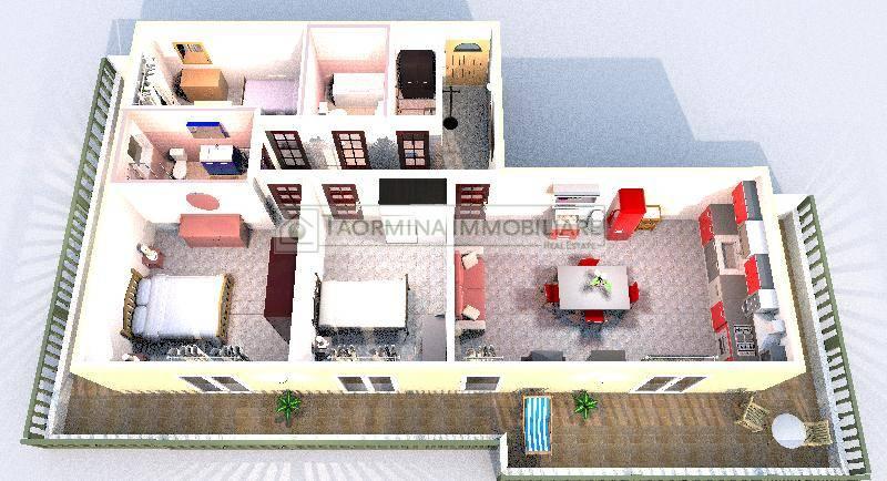 Appartamento in vendita a Gaggi, 4 locali, zona Località: Gaggi, prezzo € 170.000 | PortaleAgenzieImmobiliari.it