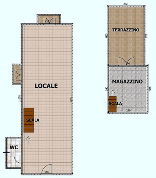 Commercial Property for Rent/Sale to Taormina
