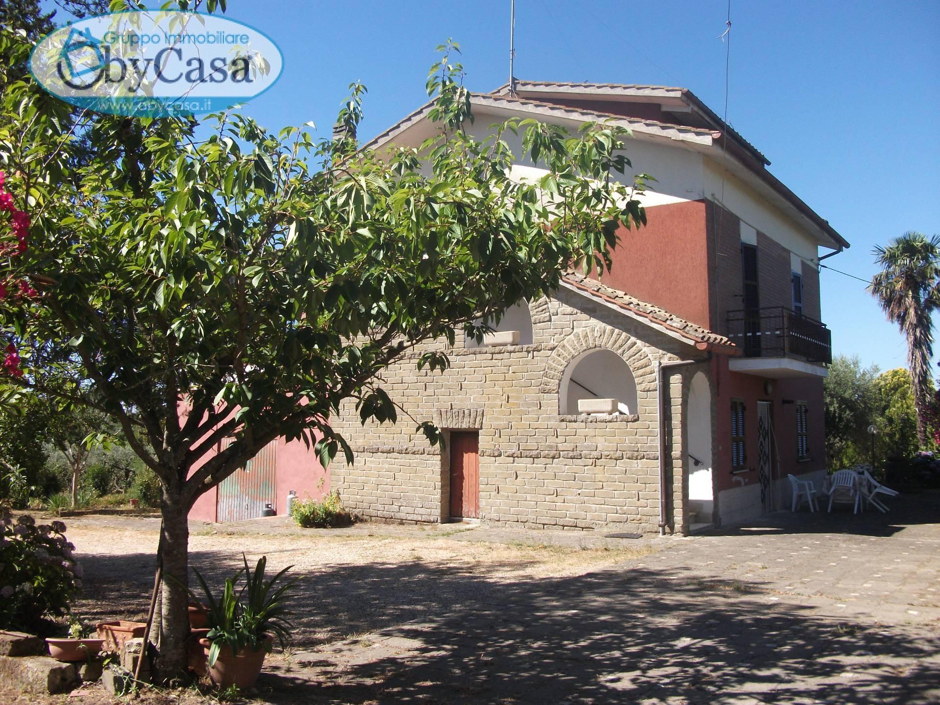 Soluzione Semindipendente in affitto a Canale Monterano, 8 locali, zona Zona: Stigliano, prezzo € 475 | CambioCasa.it