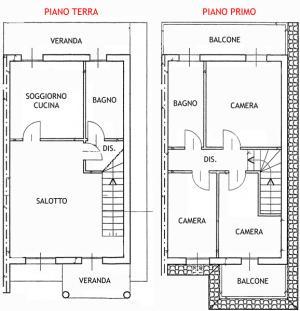 Semi-detached villa for Sale in Villaspeciosa