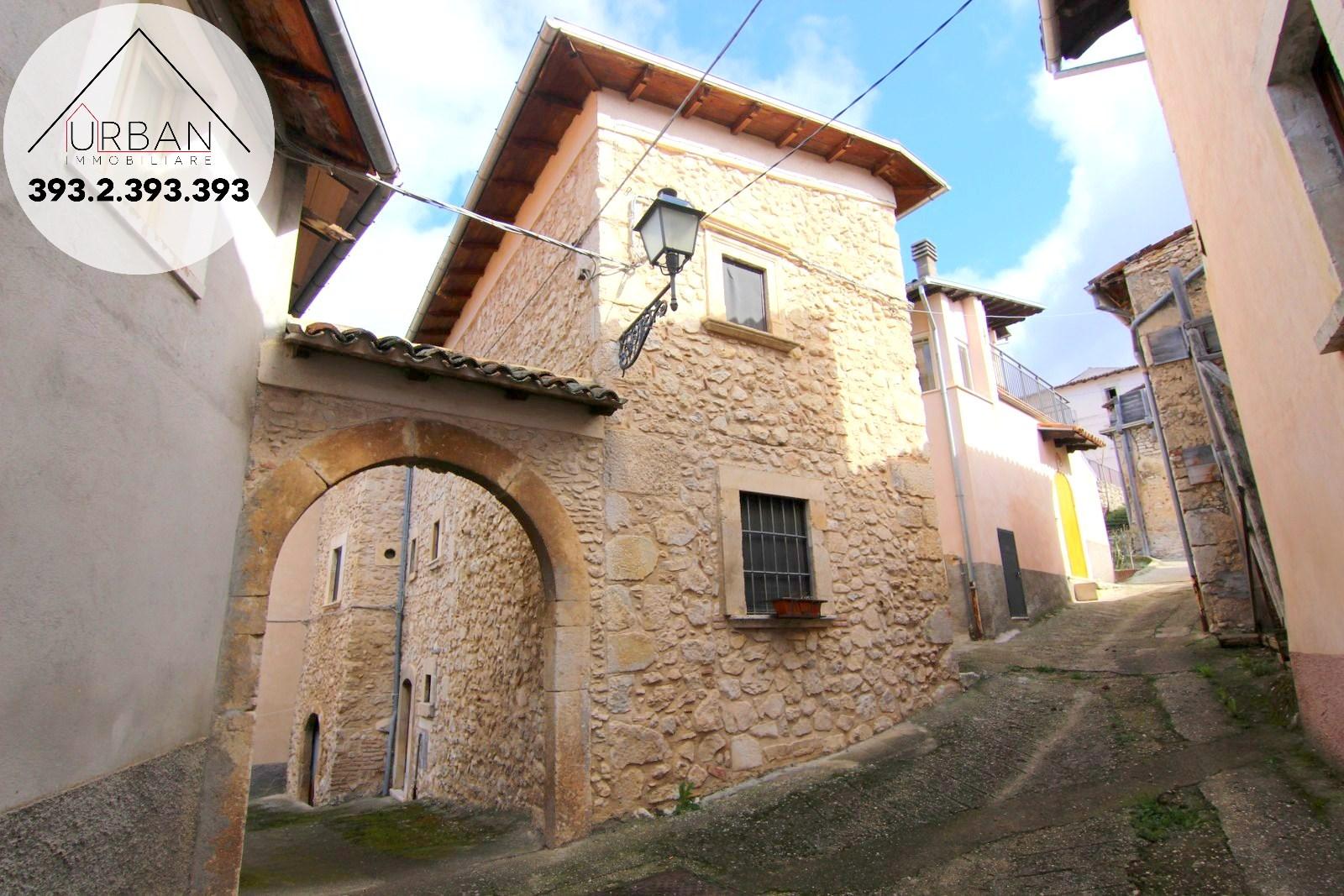 SAN DEMETRIO NE' VESTINI (AQ) - Via San Giovanni