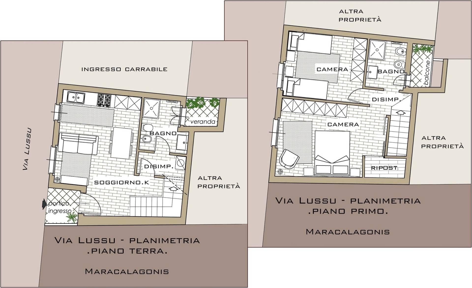 Villa a Schiera in vendita a Maracalagonis, 3 locali, prezzo € 93.000 | Cambio Casa.it