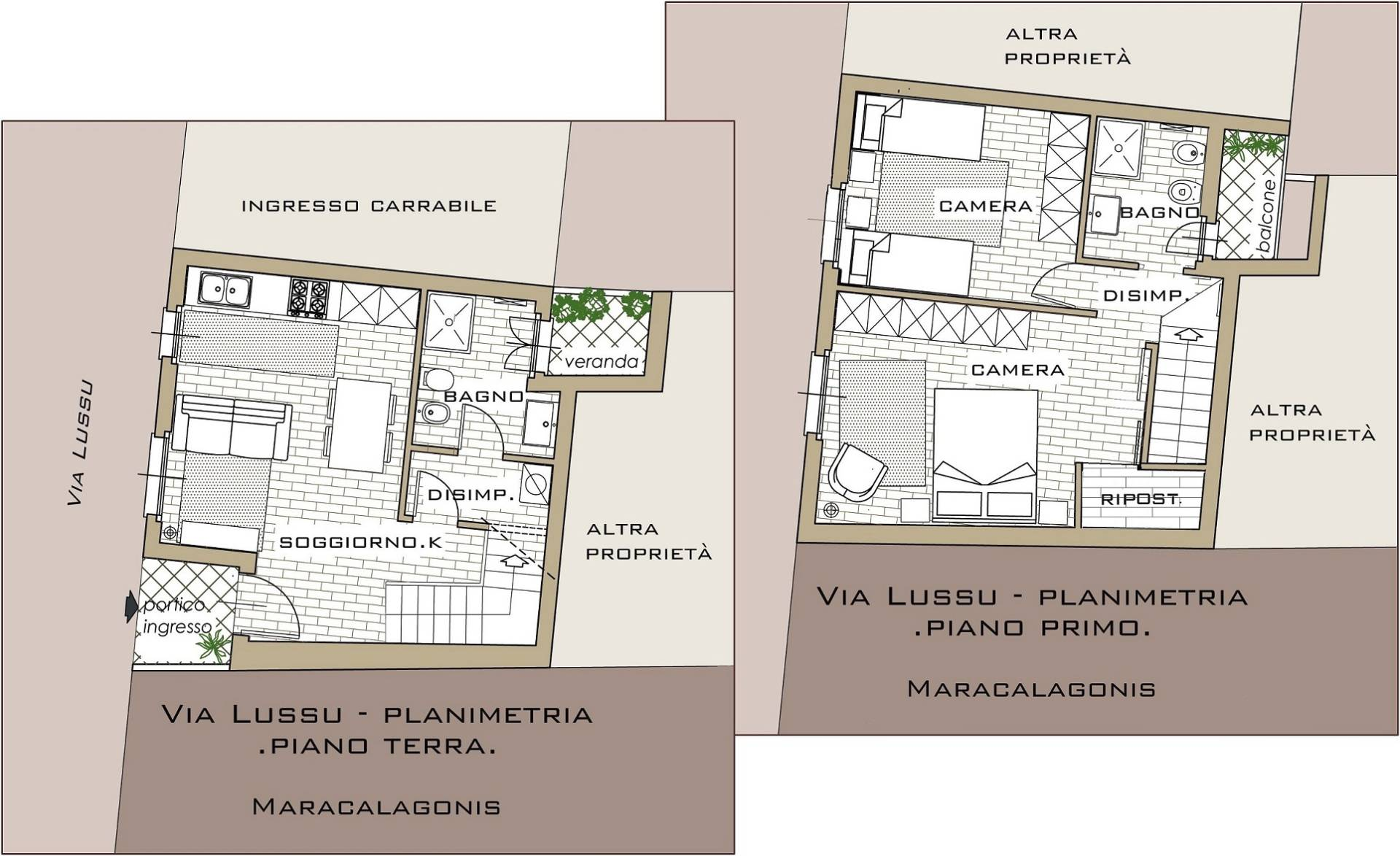 Villa a Schiera in Vendita a Maracalagonis