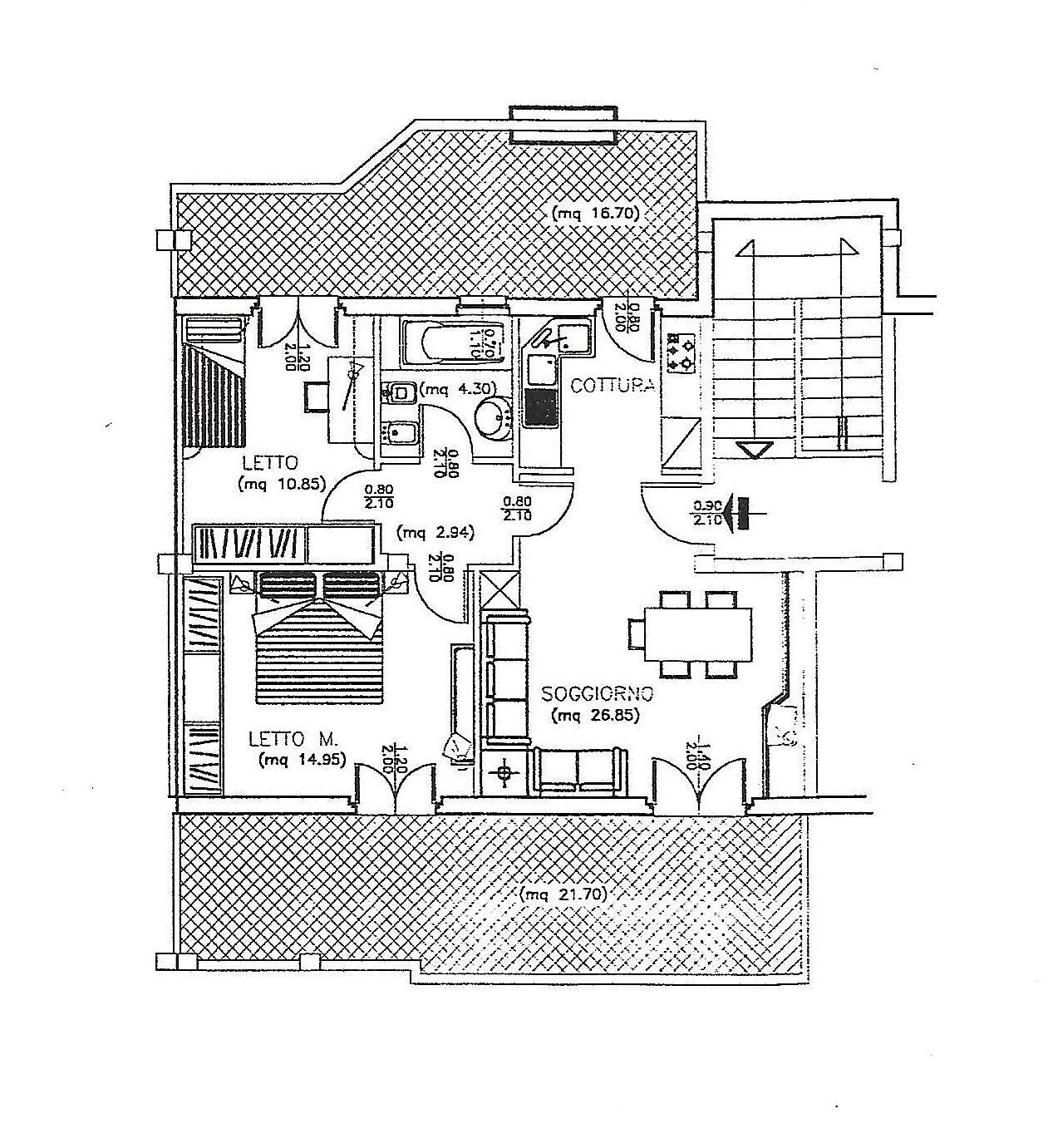 Appartamento in vendita a Maracalagonis, 3 locali, prezzo € 98.000 | Cambio Casa.it